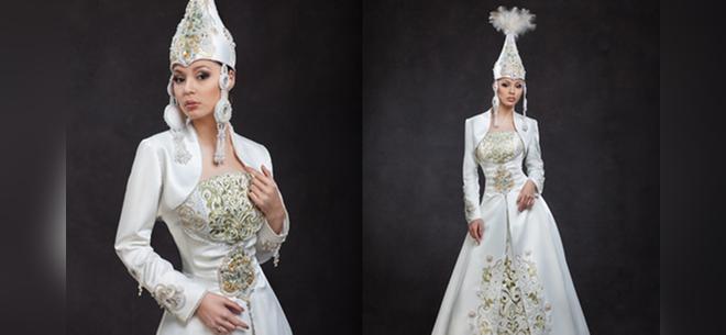 722bbd84f5e Аренда платьев в казахском национальном стиле в ателье - бутике  strong   «Золотая пуговица