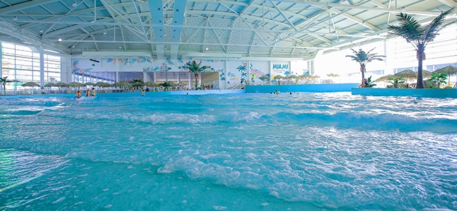 Всесезонный комплекс Miami Aquapark SPA шумно отпраздновал первый год работы